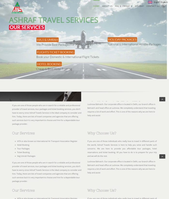 Ashraf Travel Services